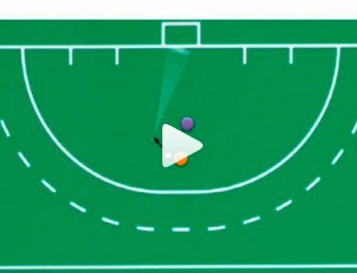 El shoot-out hockey hierba: definición de revés