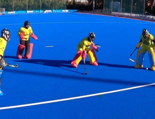 Portero hockey | Rondo 3vs1