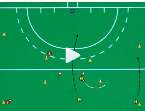 Pase e incorporación de líneas defensivas