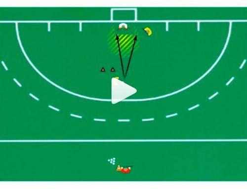 Push en hockey: como conseguir goles.
