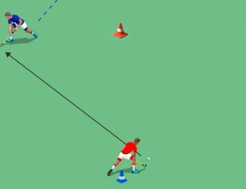 Recepciones en hockey hierba: recepciones ofensivas y defensivas