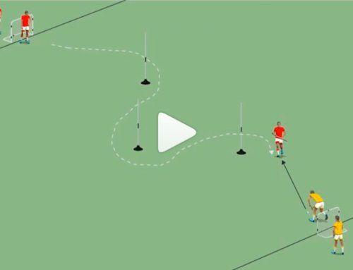 Físico tecnico hockey: cambios de dirección