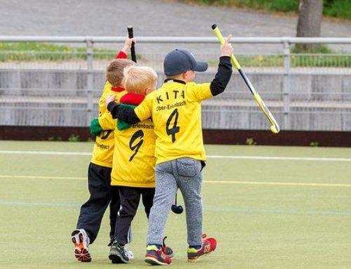 Ejercicios de hockey para niños: pase y recepción