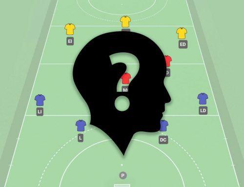 ¿Cuáles son las posiciones en hockey hierba?