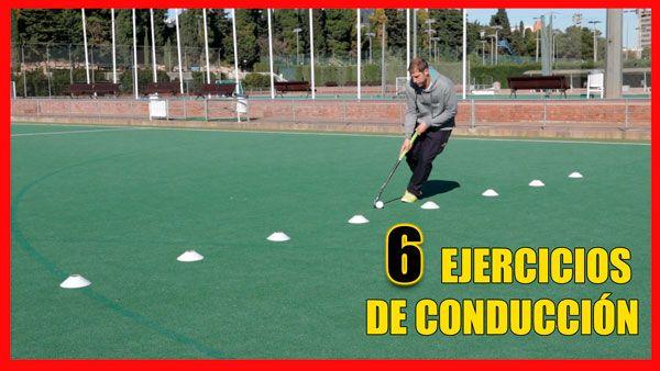 ejercicios de hockey conducción
