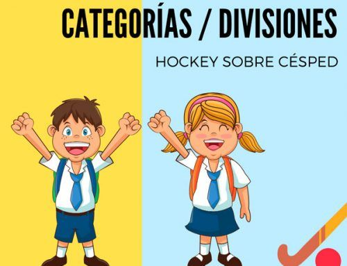 Categorías de hockey edades 2019