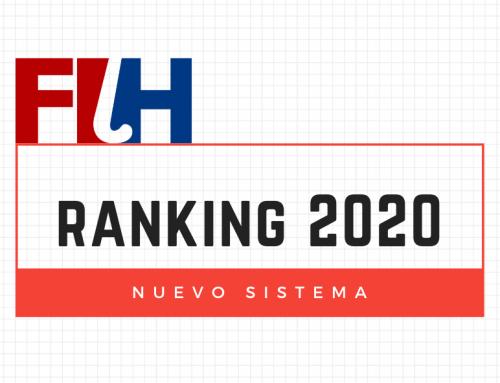 Cambios en el sistema de la FIH: nuevo ranking mundial de hockey