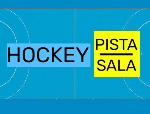 Hockey pista o sala: practicando el pase por banda
